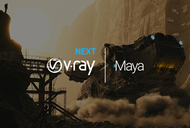 ChaosGroup V-Ray Next pentru Maya